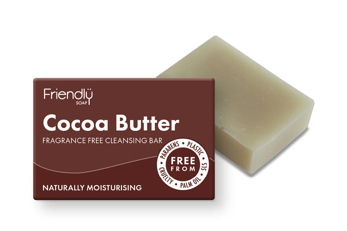 Cocoa Butter Cleansing Bar - Friendly Soap - 95g