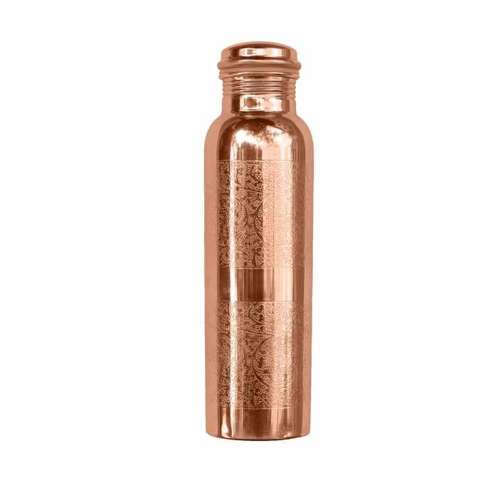 Engraved Copper Water Bottle - 900ml - Forrest & Love