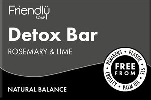 Charcoal Detox Bar Facial Soap Friendly Soap