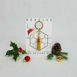 Beevive Bee Revival kit gold christmas limited edition