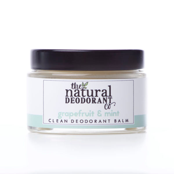 Clean Deodorant Balm - Grapefruit & Mint - The Natural Deodorant Co