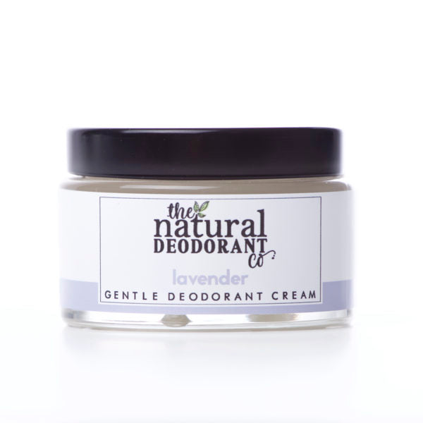 Gentle Deodorant Cream - Lavender - The Natural Deodorant Co