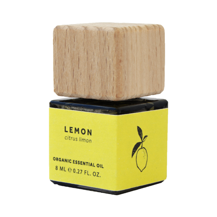 Organic Lemon Essential Oil (8ml) - Bio Scents