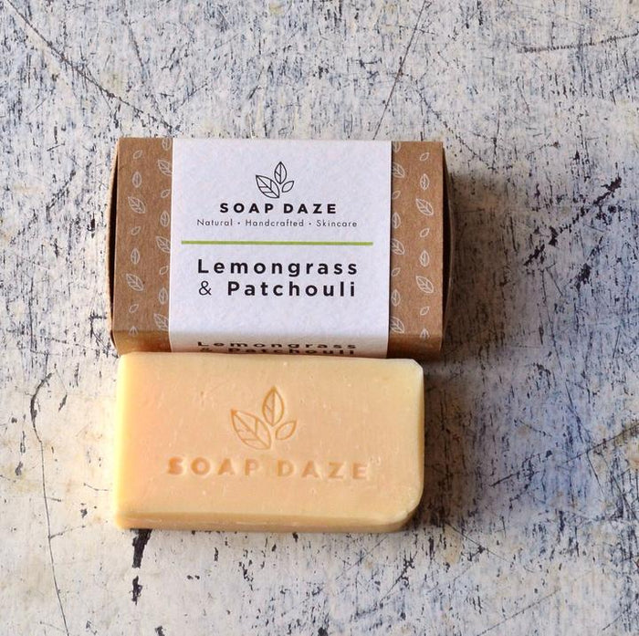 Vegan Soap Bar - Lemongrass & Patchouli - 112g