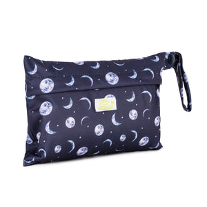 Baba+Boo Mini Reusable Wet Sanitary Pad Bag Moons