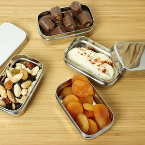 Stainless Steel Snack Container x 1