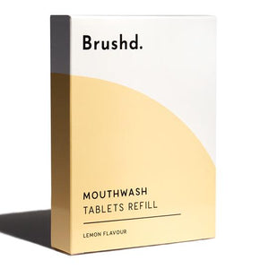 Mouthwash Tablets Lemon Refill Brushd.