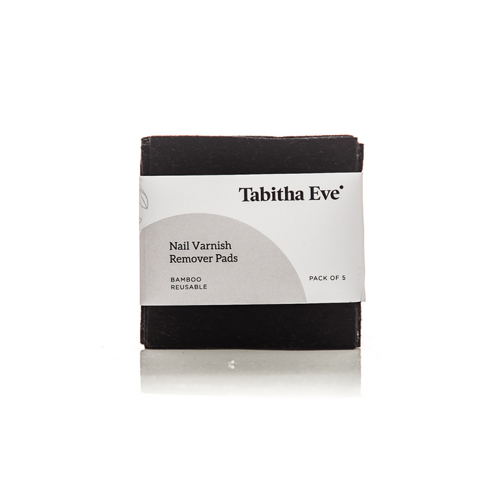 Reusable Nail Varnish Remover Pads x 5 - Tabitha Eve