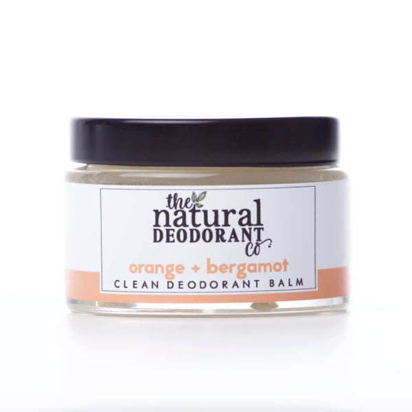 Clean Deodorant Balm Orange & Bergamot - The Natural Deodorant Co