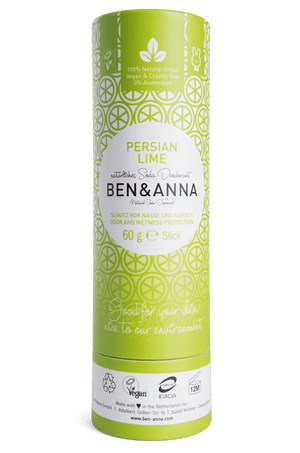 Natural Deodorant Persian Lime Ben & Anna