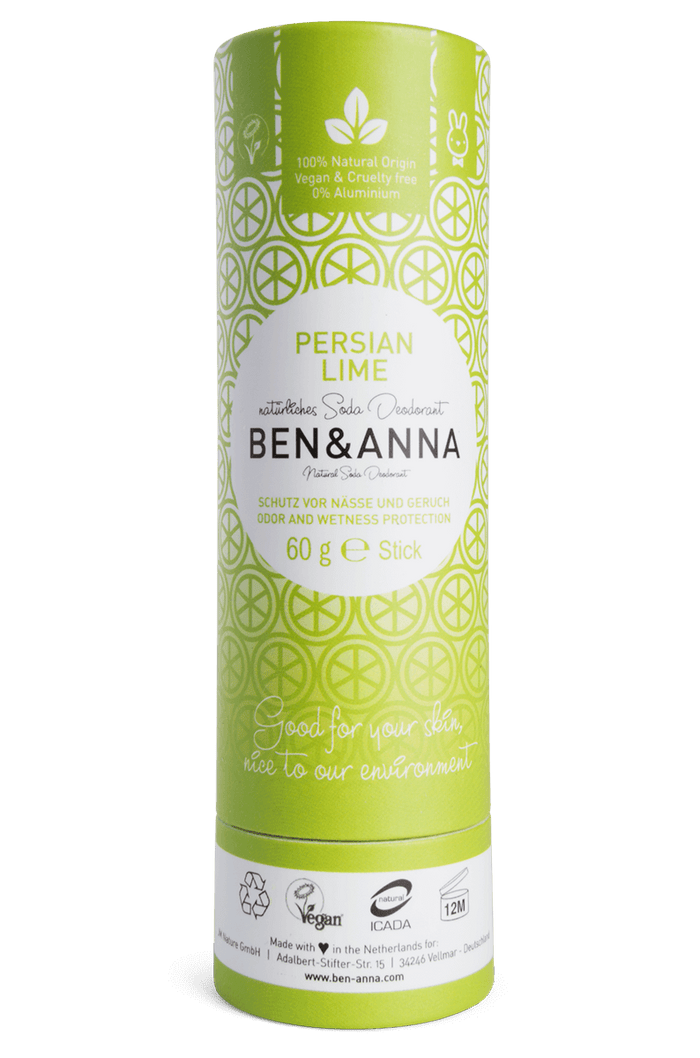 Natural Deodorant Persian Lime - Ben & Anna - 60g