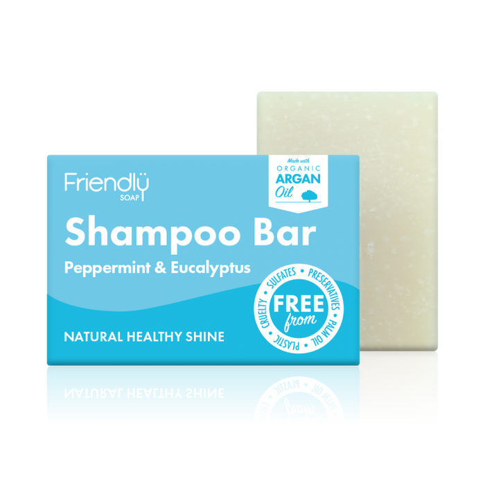 Shampoo Bar Peppermint & Eucalyptus - Friendly Soap