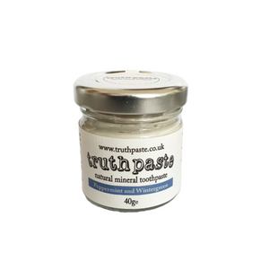Peppermint & wintergreen toothpaste trusthpaste