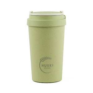 Pistachio Rice Husk Coffee Cup 400 ml Huski Home