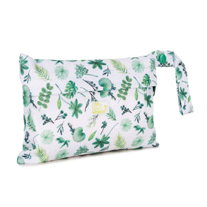 Baba+Boo Reusable Sanitary Wet Bag Plants