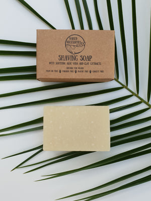 vegan cruelty free shaving soap