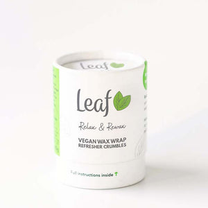 Leaf Vegan Wax Wrap Refresher Crumbles Relax & Rewax