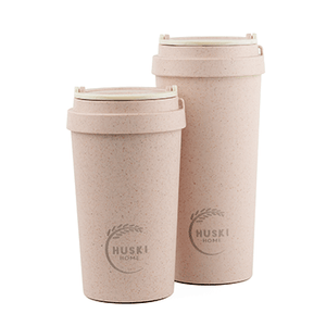 Huski Home Rice Husk Coffee Cups Rose