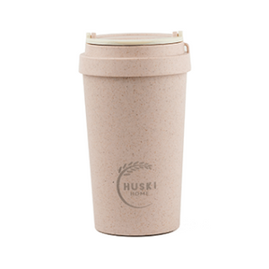 Rose Rice Husk Coffee Cup 400 ml Huski Home