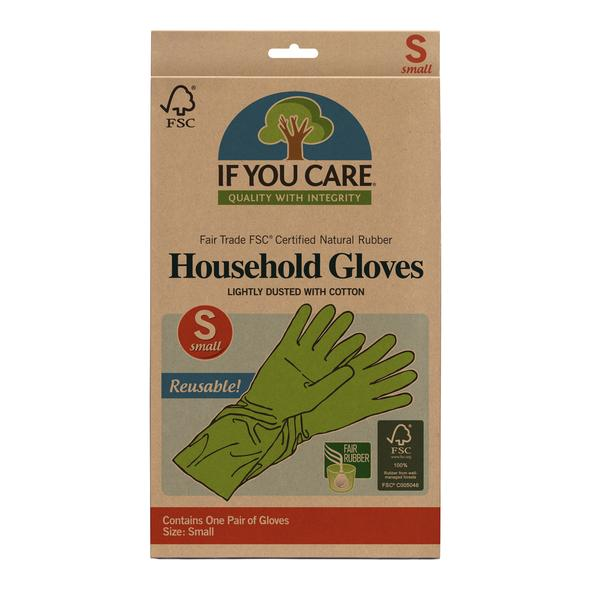 If You Care Natural Rubber Gloves - Small