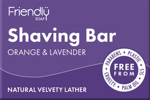 Shaving Bar Orange & Lavender Friendly Soap