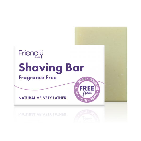 Fragrance Free Shaving Bar - Friendly Soap - 95g