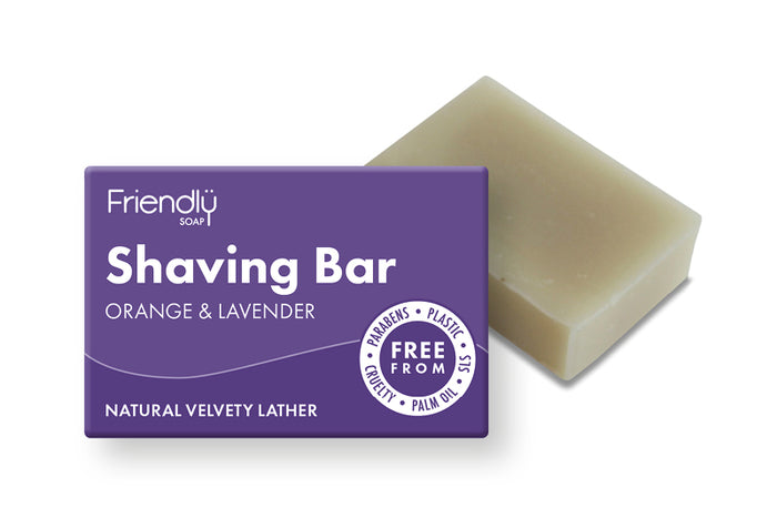Shaving Bar - Orange & Lavender - Friendly Soap - 95g