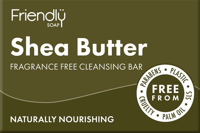 Shea Butter Facial Cleansing Soap - Friendly Soap - 95g