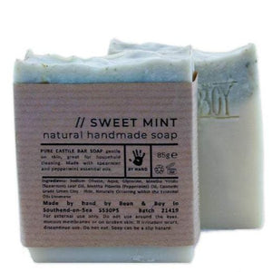 Sweet Mint Castile Soap - 85g - Bean & Boy