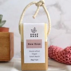 Soap on a Rope - New Rose - 185g