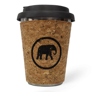 To-Go Coffee Cup Elephant Box Grey