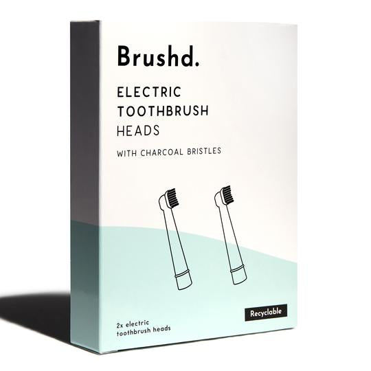 recyclable toothbrush heads charcoal brushd.