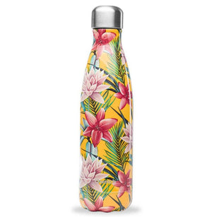Tropical Yellow Qwetch Insulated Stainless Steel Bottle 500ml