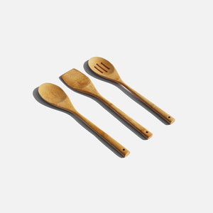 Bamboo Cooking Utensils Set Zero Waste Club