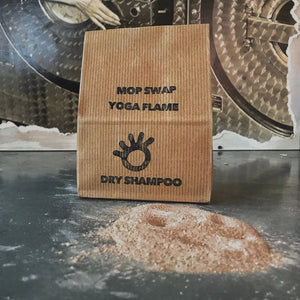 Yoga Flame Mop swap dry shampoo primal suds