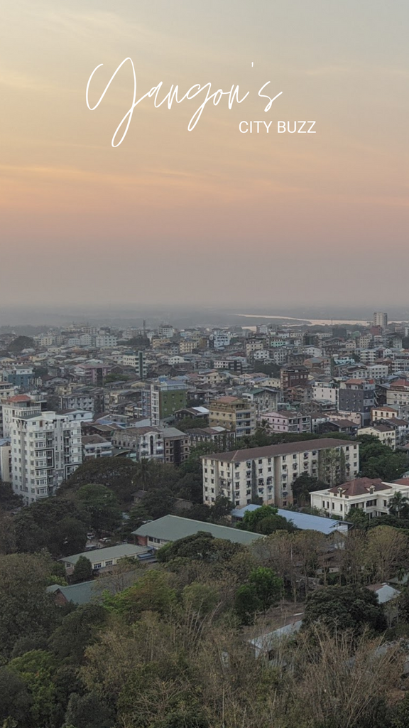 Yangon's City Buzz