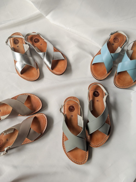 [MADE-TO-ORDER] Crossover Sandals