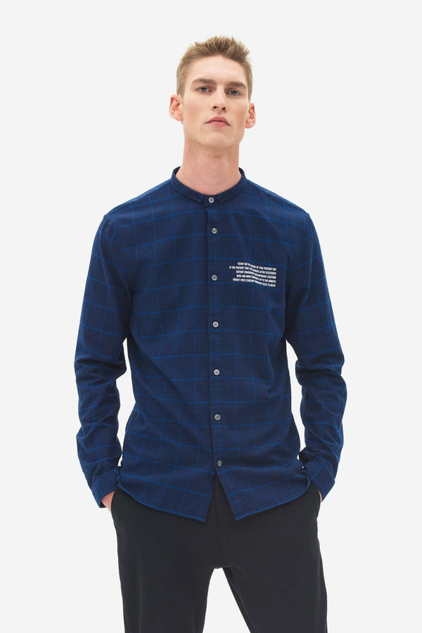 Signature Collar Shirt night sky