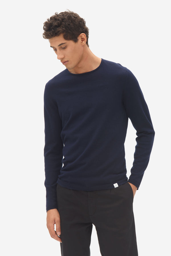 Woolen Long Sleeve  sky captain