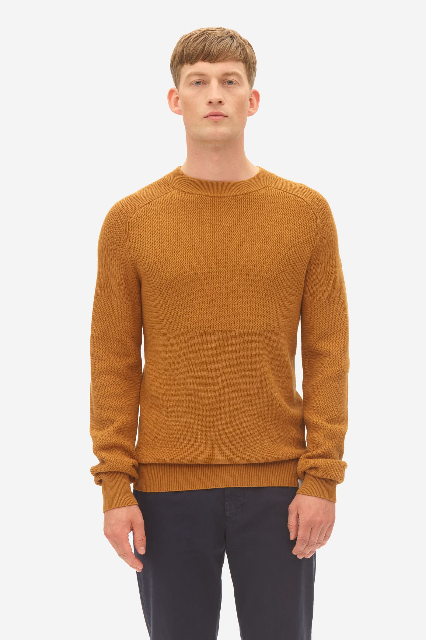 Multi Structure Sweater chai tea