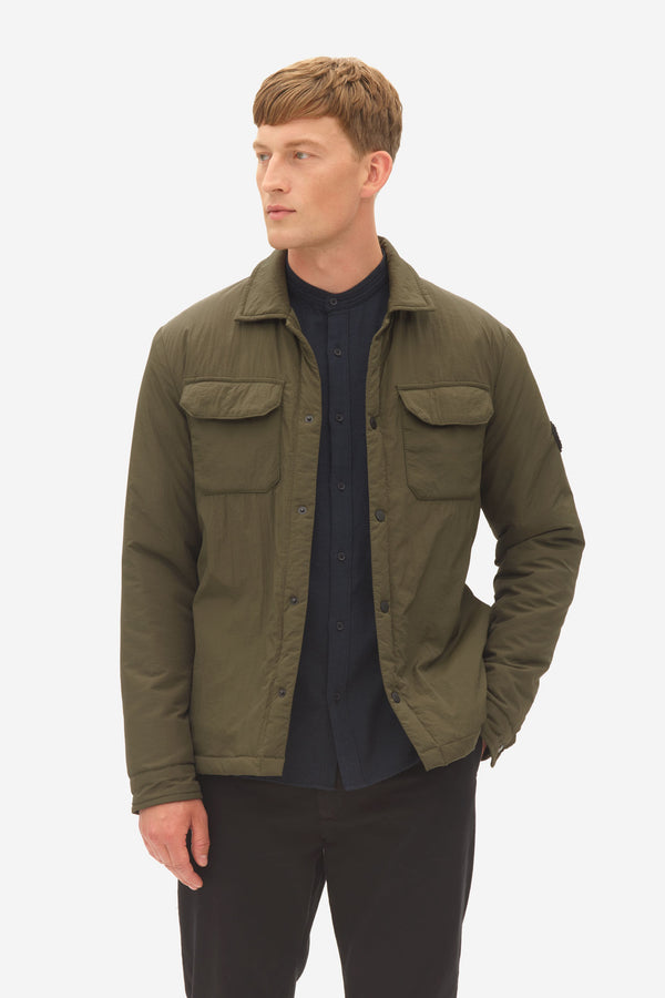 Padded Shirt Jacket rosin