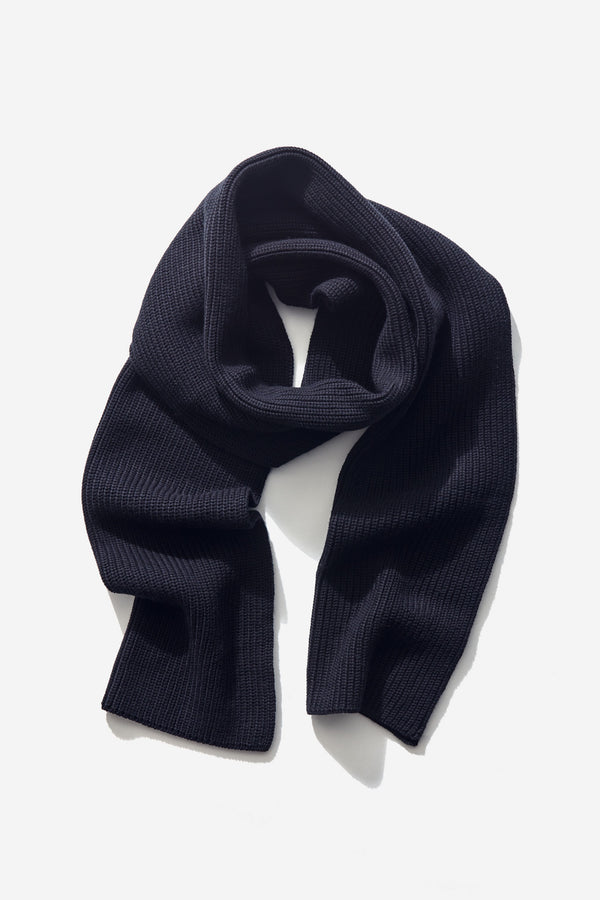 Structured Scarf caviar