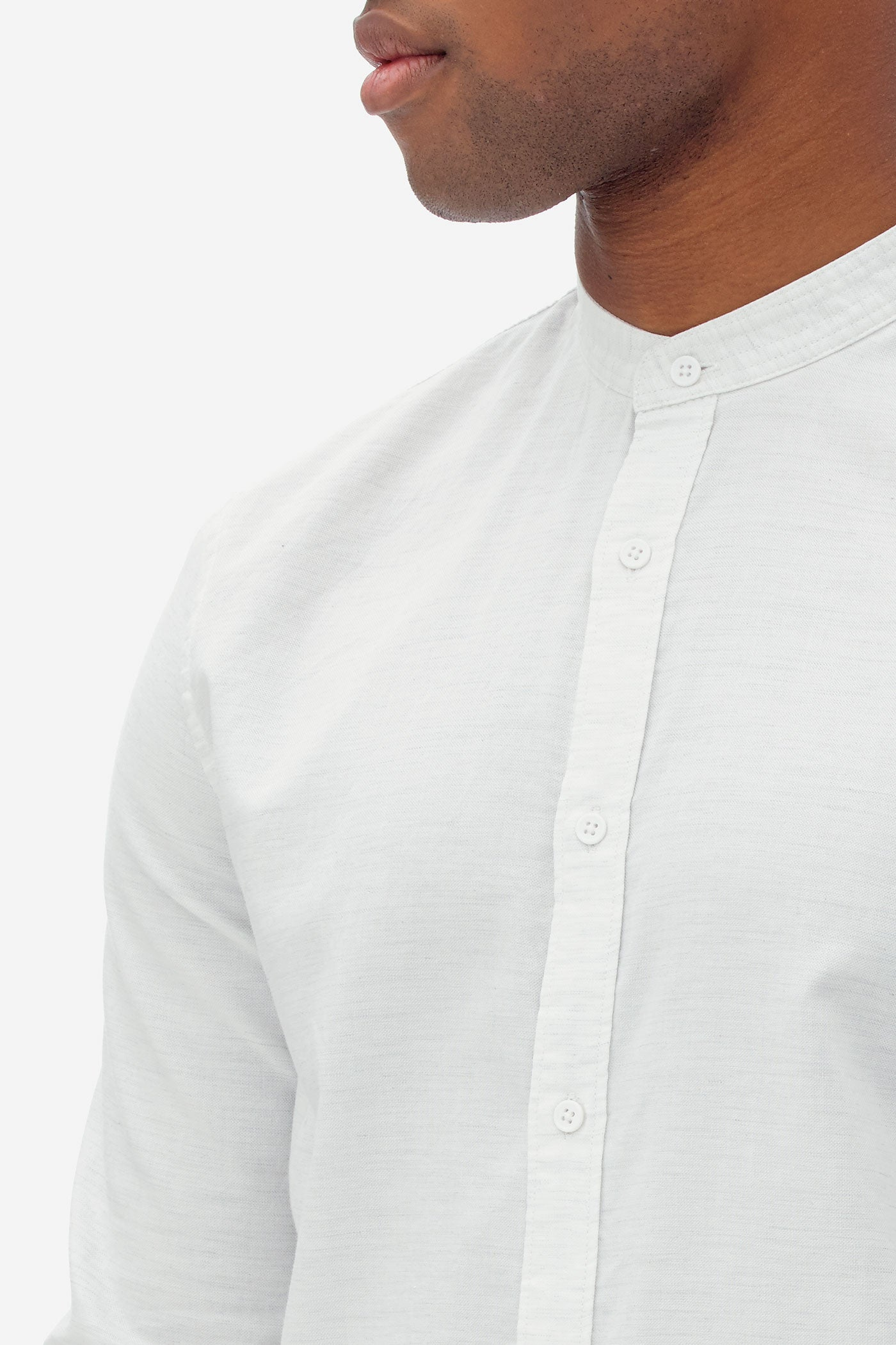 NAB0107D2 oxford melange shirt