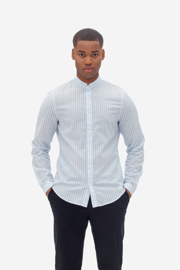 NAB0114D2 super light stripe shirt