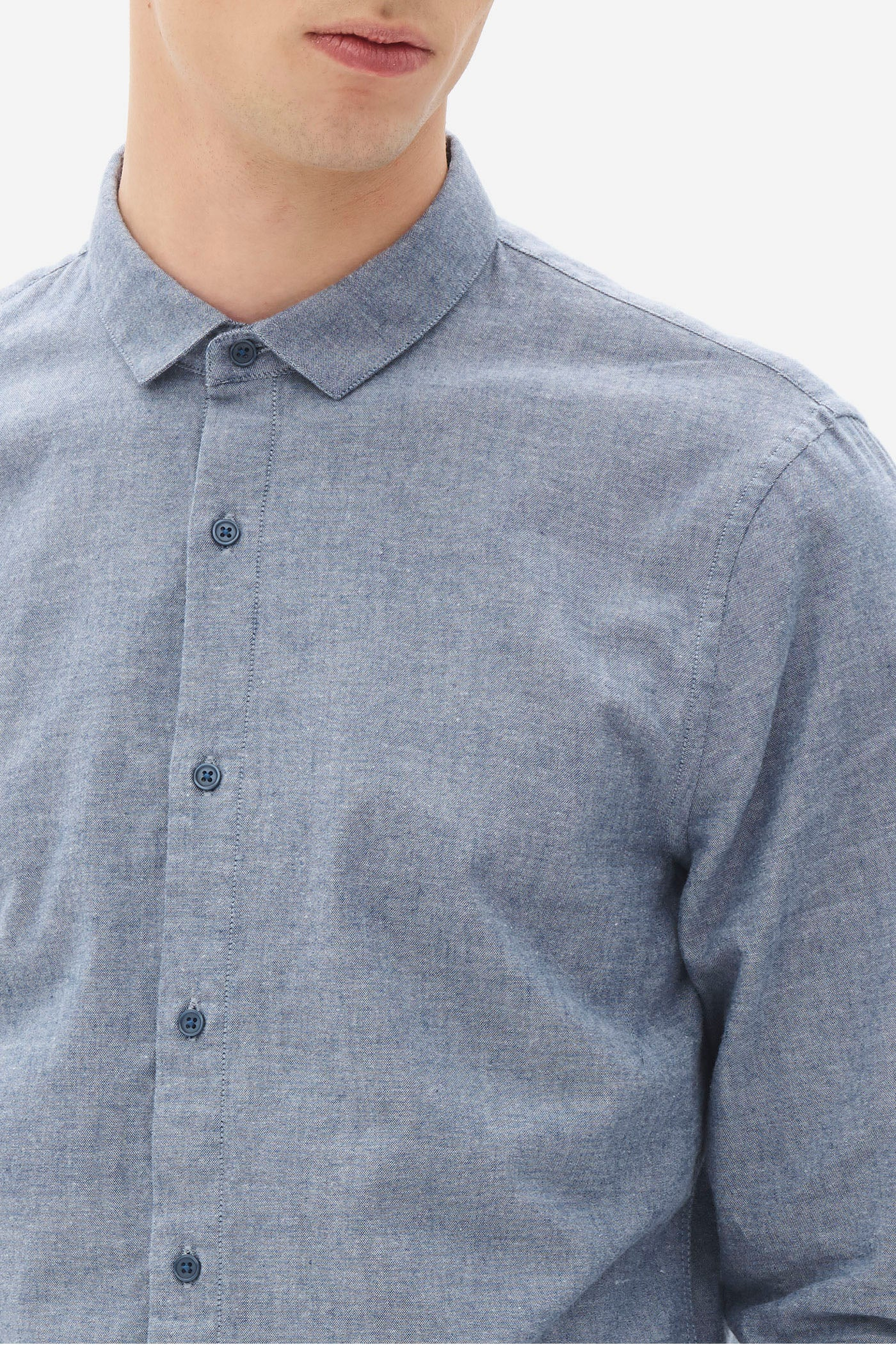 Brushed Oxford Shark Shirt