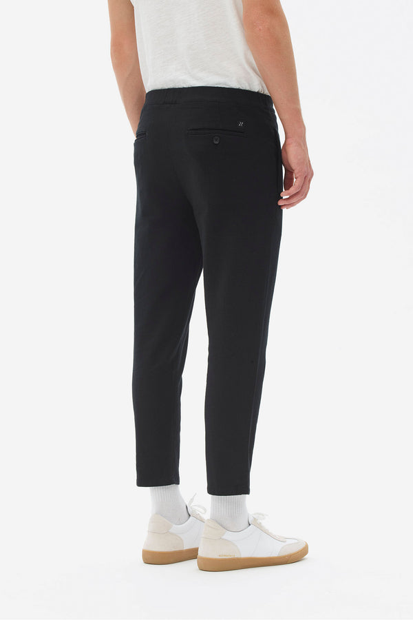 Elastic Pleat Pants
