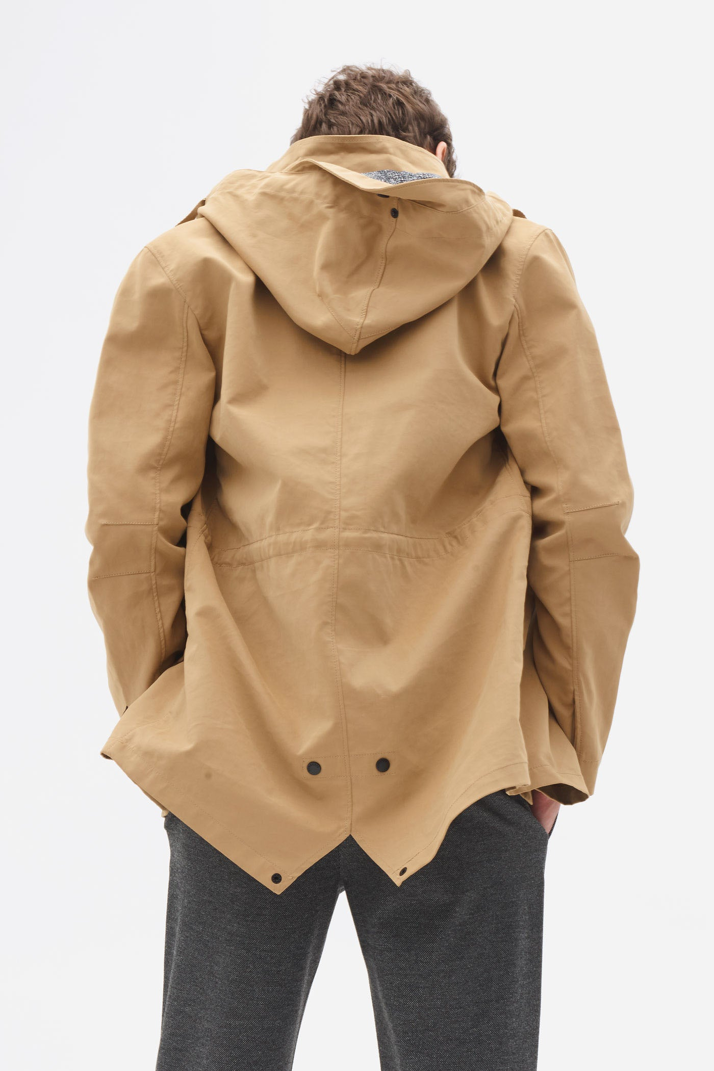 Bonded Fishtale Parka tigers eye