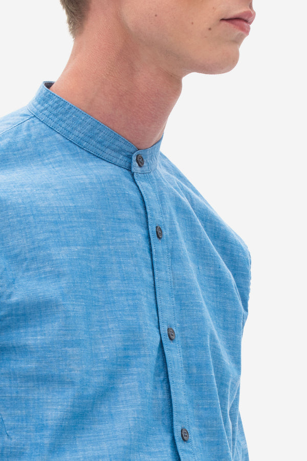 Strong Chambray Shirt medival blue
