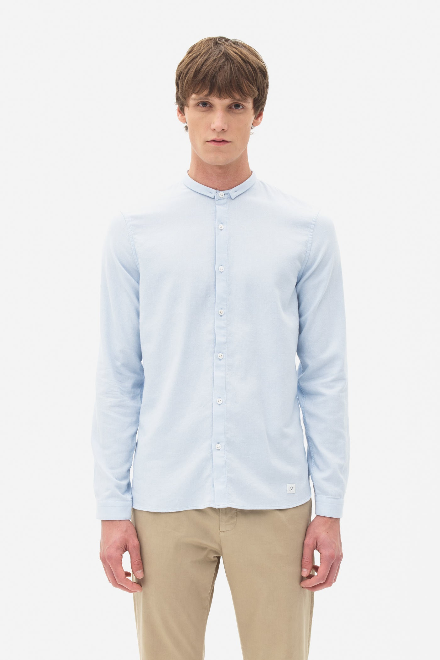 Signature Mouline Shirt blue