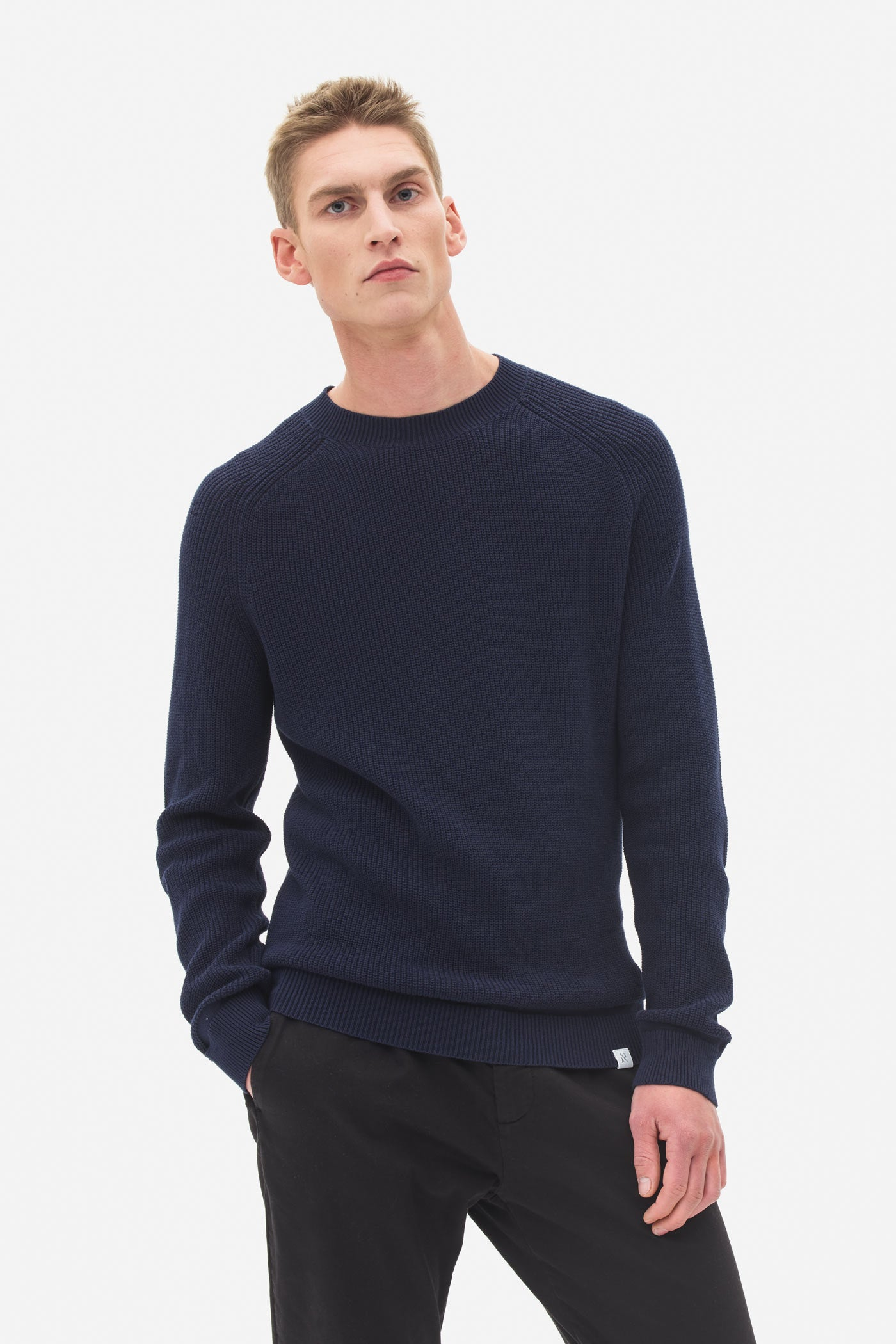 Raglan Sweater night sky
